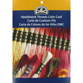 DMC Needlework Threads Color Card
